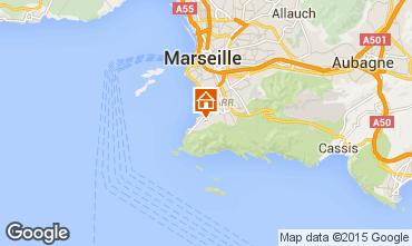 Mapa Marselha Apartamentos 18588