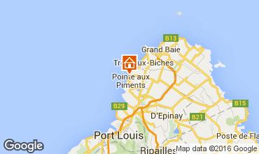Mapa Pointe Aux Piments Apartamentos 48721