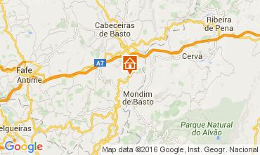 Mapa Celorico de Basto Casa de turismo rural/Casa de campo 64269