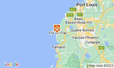 Mapa Flic-en-Flac Apartamentos 94521