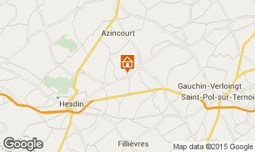 Mapa Hesdin Casa de turismo rural/Casa de campo 82435
