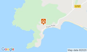 Mapa Porto Pollo Apartamentos 114070