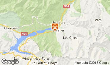 Mapa Les Orres Chalé 74692