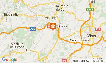 Mapa Caramulo Casa de turismo rural/Casa de campo 70149