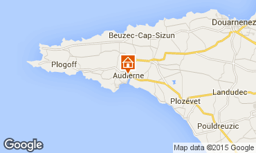 Mapa Audierne Casa 60234