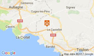 Mapa Saint Cyr sur Mer Mobil Home 77786