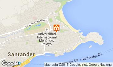 Mapa Santander Apartamentos 69108