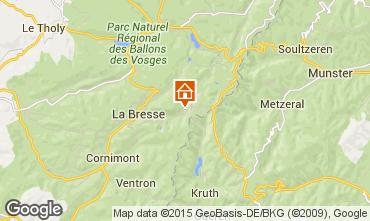 Mapa La Bresse Apartamentos 99262