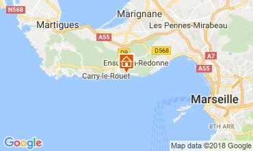 Mapa Ensues La redonne Apartamentos 113503