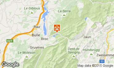 Mapa Charmey Chalé 4805