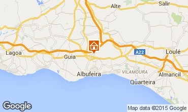 Mapa Albufeira Casa 61489