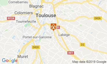 Mapa Toulouse Apartamentos 119484
