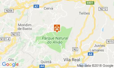 Mapa Vila Real Casa de turismo rural/Casa de campo 114765