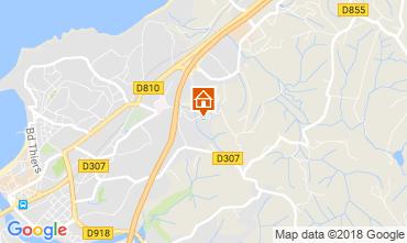 Mapa Saint Jean de Luz Apartamentos 114633