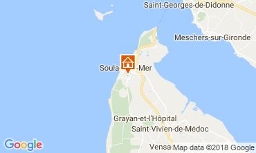 Mapa Soulac Apartamentos 115930
