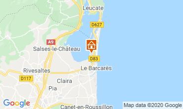 Mapa Le Barcares Apartamentos 114118