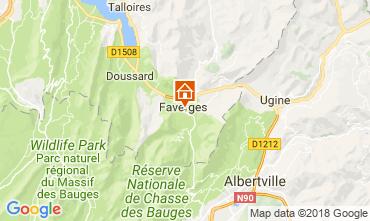 Mapa Annecy Apartamentos 115485