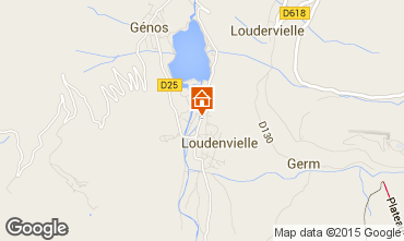 Mapa Loudenvielle Chal� 4356