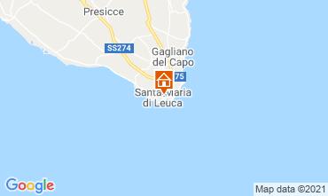 Mapa Santa Maria di Leuca Apartamentos 65510