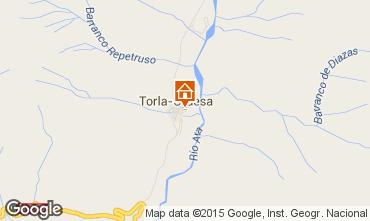Mapa Torla Casa de turismo rural/Casa de campo 29117