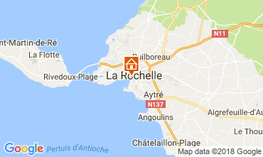 Mapa La Rochelle Apartamentos 69535