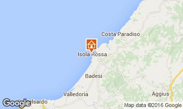 Mapa Isola Rossa Apartamentos 102560