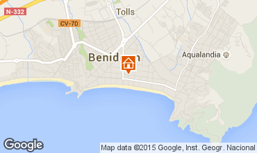 Mapa Benidorm Apartamentos 69891