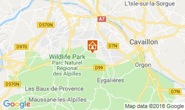 Mapa Saint Rémy de Provence Casa de turismo rural/Casa de campo 98340