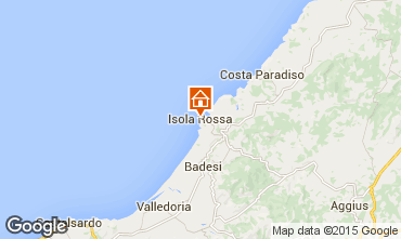 Mapa Isola Rossa Apartamentos 42214