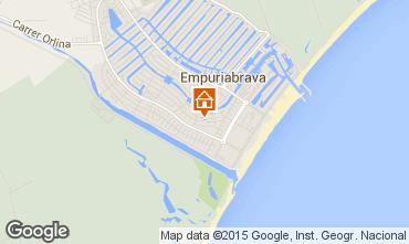 Mapa Empuriabrava Apartamentos 76763