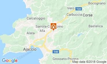 Mapa Ajaccio Estúdio 40805