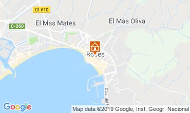 Mapa Rosas Apartamentos 114421