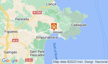 Mapa Rosas Apartamentos 63973