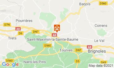 Mapa Saint Maximin la Sainte Baume Vivenda 112385