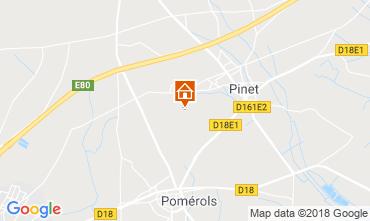 Mapa Cap d'Agde Vivenda 116895