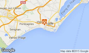 Mapa Agde Mobil Home 11169