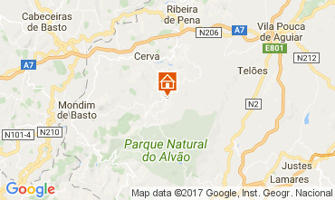 Mapa Vila Real Casa de turismo rural/Casa de campo 111962