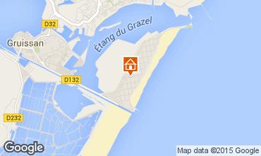 Mapa Gruissan-Plage Apartamentos 56156