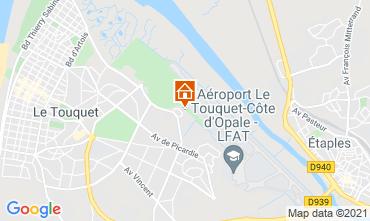 Mapa Le Touquet Casa 7747