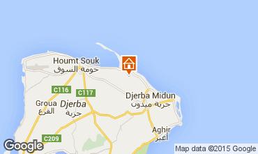 Mapa Djerba Vivenda 78118