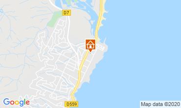 Mapa Fréjus Apartamentos 107365