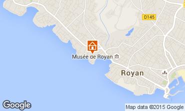 Mapa Royan Apartamentos 99042