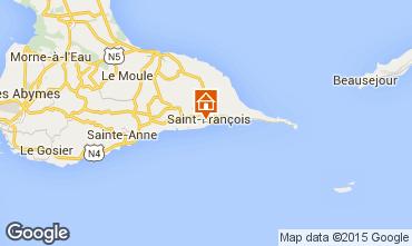 Mapa Saint Francois Apartamentos 102111