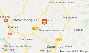 Mapa Vaison la Romaine Apartamentos 119300