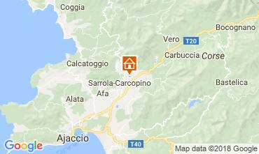 Mapa Ajaccio Casa 112239