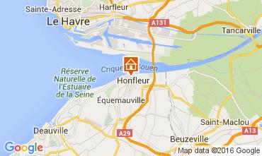Mapa Honfleur Apartamentos 103796