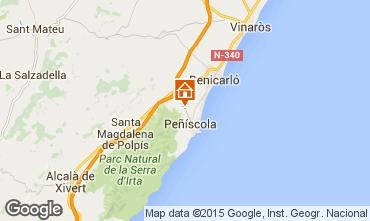 Mapa Penhíscola Vivenda 74608