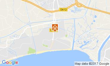 Mapa Vias Praia Mobil Home 110597