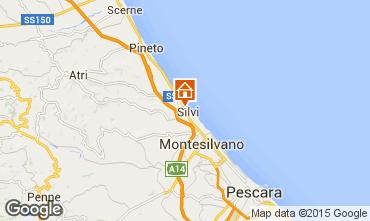 Mapa Silvi Marina Apartamentos 81417