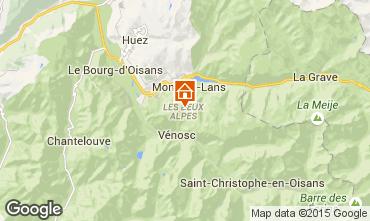 Mapa Les 2 Alpes Apartamentos 49434